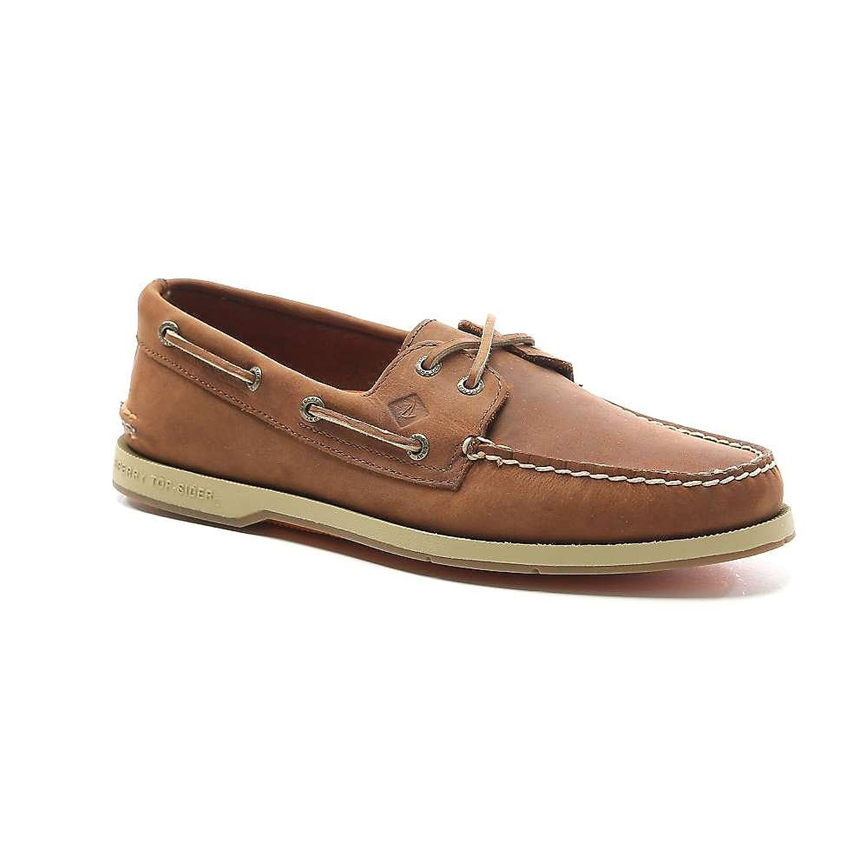 スペリー シューズ スニーカー Sperry Men's Captain's A/O 2-Eye Shoe Tan [並行輸入品] B07B4VXL21