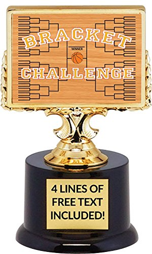 Basketball Bracket March Madness Challenge Trophy