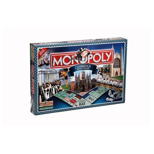 Winning Moves Games Cambridge Monopoly Board Game