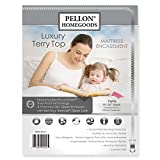 Pellon TEMAT-397511 Luxury Terry Top Mattress Encasement - Twin Size