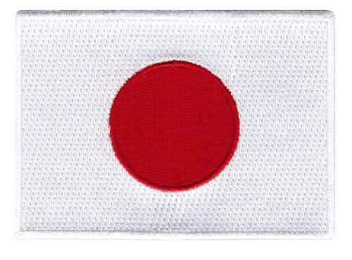 Japan Flag Embroidered Patch Japanese Iron-On National Emblem
