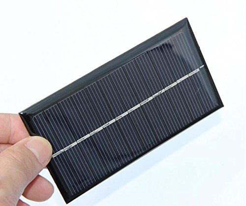 51qiksGe JL - 6V 1W 110*60mm Micro Mini Power Small Polycrystalline Solar Cell Panel Module For DIY Solar Light Phone Battery Charger Toy Flashlight Power Bank