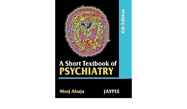 Ahuja Psychiatry Pdf