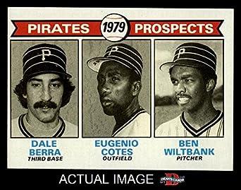 Amazon.com: 1979 Topps # 723 Pirates Prospects Dale Berra
