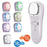 Cryotherapy Hot Cold Hammer Face Lifting LED Light Photon Facial Massager Skin Care SPA Wrinkle Remover Beauty Machine