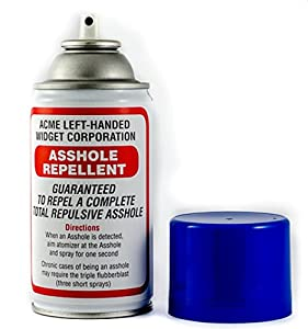 Asshole repellant for hr manager