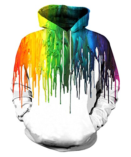 EOWJEED 3d Digital Print New Fashion Hoodie Sweatshirt Jacket XX-Large