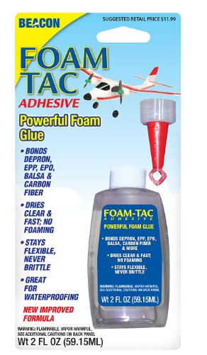Beacon Foam Tac Adhesive Foam Glue 2 Ounce Carded