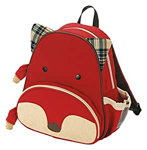 Skip Hop Zoo Pack Little Kid Backpack, Fox