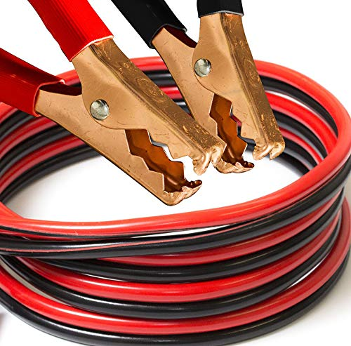 [해외]Heavy Duty Commercial Grade Jumper Booster Cable 25 Feet 10 Gauge 150 AMP / Heavy Duty Commercial Grade Jumper Booster Cable 25 Feet 10 Gauge 150 AMP