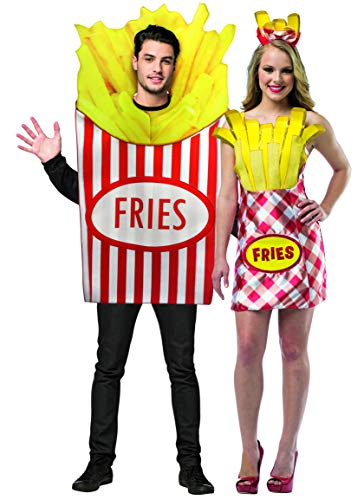 Rasta Imposta French Fry Friends, Couples Costume Set ()