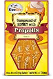 Beelife, 100% Pure, Raw and Unfiltered Honey and Propolis Sachets - 10 Units