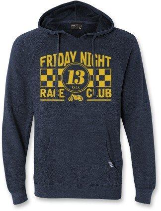 Factory Effex Unisex-Adult Road N Gravel Friday Night Hooded Sweatshirt Navy Heather, XX-Large 1 Pack 20-88818