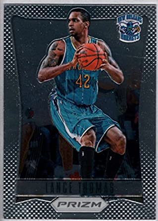 Amazon.com  Basketball NBA 2012-13 Panini Prizm  272 Lance Thomas ... 2480b32e4