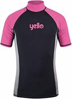 Yello Girls Silvertip Rash Vest