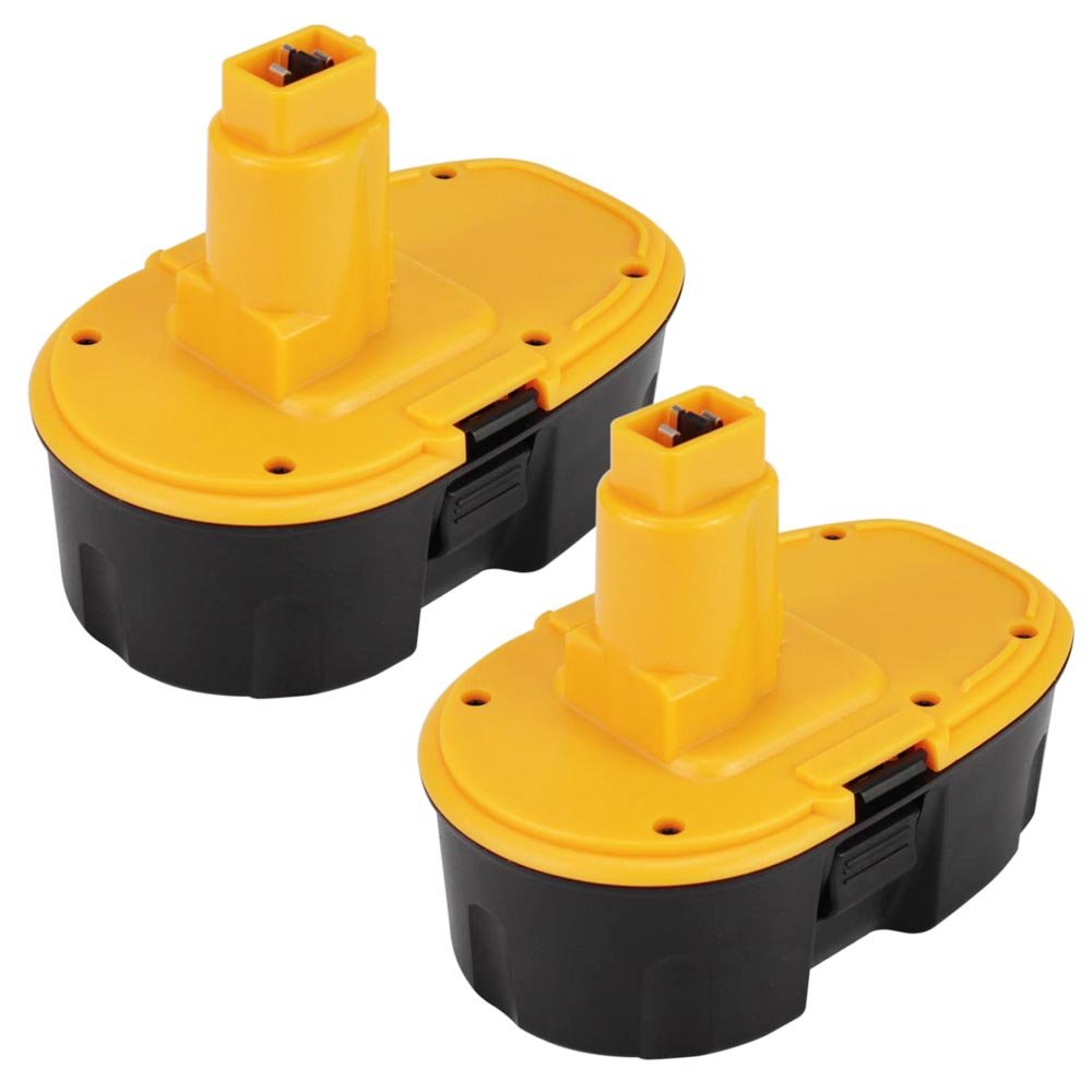 Eagglew 18V 3.0Ah Ni-MH Replacement for Dewalt Battery DE9098 DC975 DE9095 DC925 DE9053 DE9096 DE9094 DC9096 DE9039 DW9096 DW9095 DW9098 DC9096 xr Cordless Drill (Black) South-Huifeng Tech