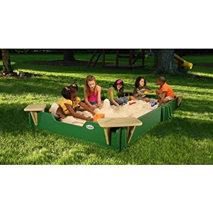 Amazon.com: sandlock sandboxes csg-60120 caja de arena: Toys ...