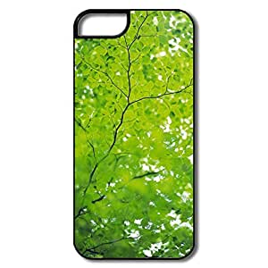 Uncommon Green Leaves Case For IPhone 5/5s