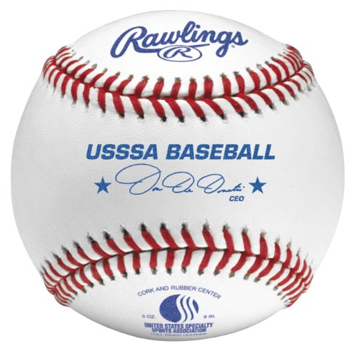 Rawlings Official League USSSA Competition Baseball (Dozen) by Rawlings