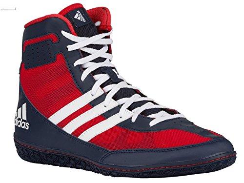Scarpe Da Ginnastica Adidas Performance Mat Mat. Wizard.3 Rosso / Bianco / Blu Scuro