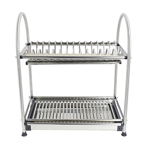 13.6-17.7Inch Adjustable Draining Basket Over Sink Stainless