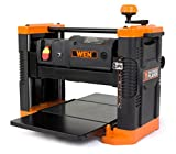 WEN 6550 12.5-Inch 15A Benchtop Thickness Planer with Granite Table