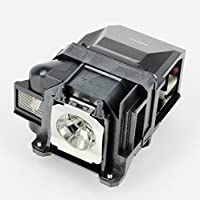 AuraBeam Replacement Projector Lamp For ELPLP78 V13H010L78 with Housing For EPSON PowerLite W15+