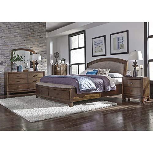 Liberty Furniture Avalon III 4 Piece Queen Storage Bedroom Set