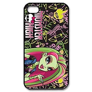 Cyber Monday Store Customize Cartoon Game Monster High Back Case for iphone 4 4S JN4S-1925