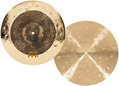 Meinl Cymbals B15DUH Byzance Extra Dry 15-Inch Dual Hi-Hat Cymbal Pair (Meinl Hi Hat Cymbals)