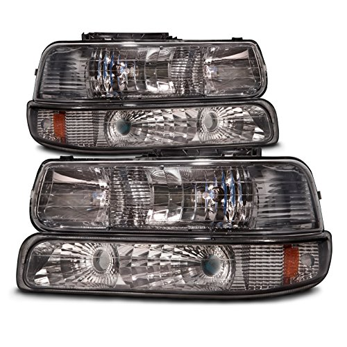 02 tahoe chrome headlights - 2