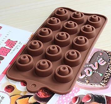 Personalisierte Silikon Form Loch Rund Mit Einem Loch In Der Mitte  Etagenbett DIY Schokolade Eis Gitter