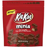 KIT KAT Minis Crisp Wafers in Milk Chocolate, (8-Ounce Pouch)