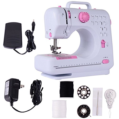 Costway Stitches Household Multifunction Free Arm