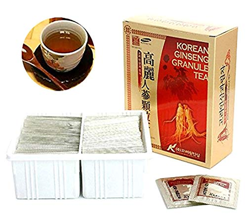 - Korean Ginseng Extract Granules Tea Health Food (3g X 100 bags)