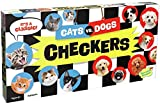 Peaceable Kingdom Cats vs. Dogs Checkers