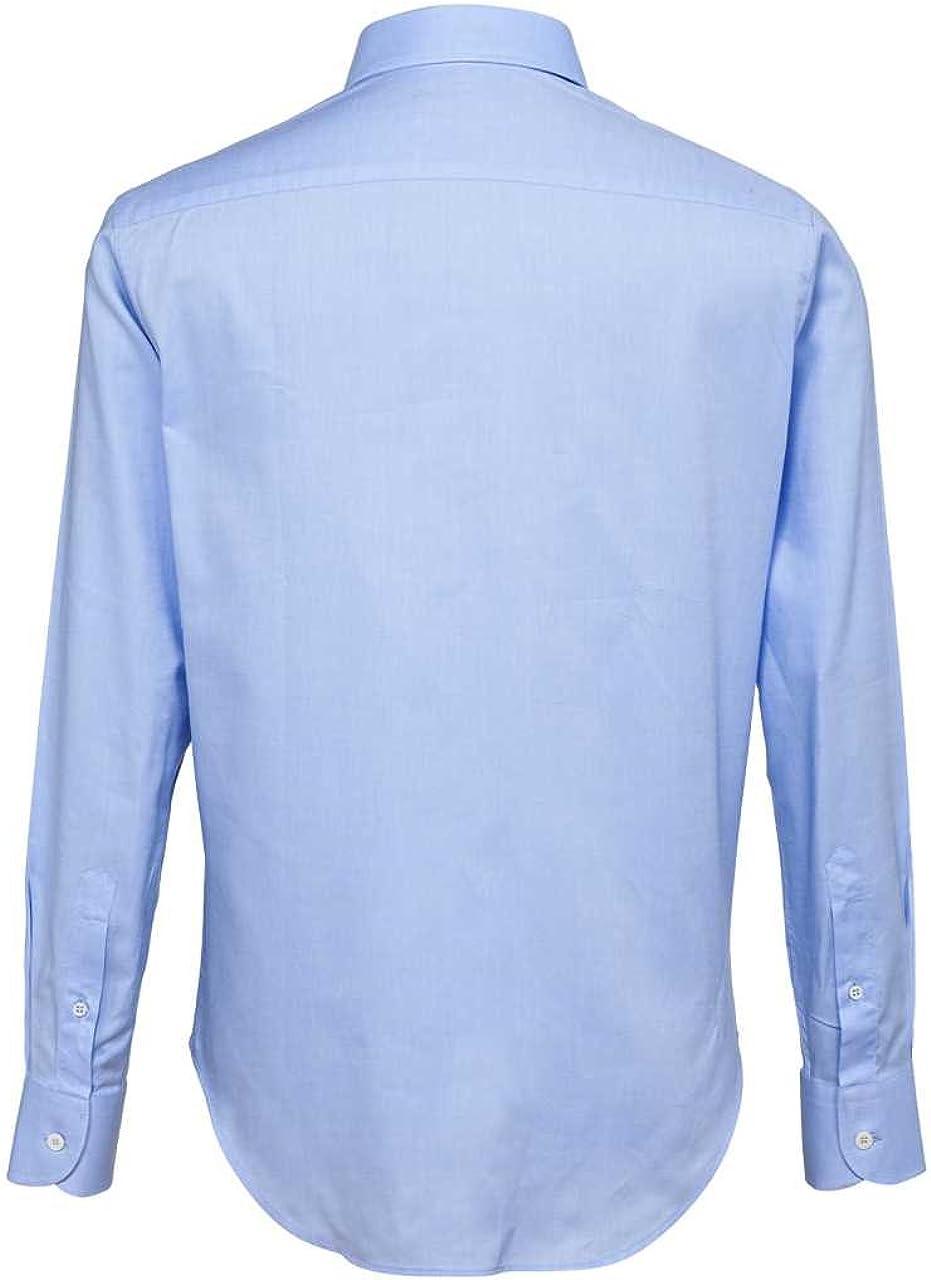 Cotton Belt Camicia da uomo, colore: blu chiaro Hellblau 40