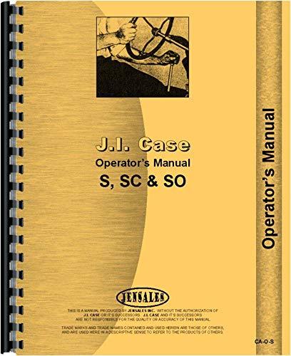 Case SC Tractor Operators Manual (All SN#s)