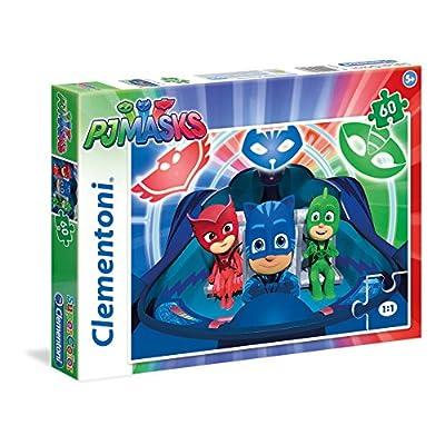 Clementoni Masks Pj Marks Supercolor Puzzle Multicolore 60 Pezzi 26972
