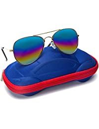 Kids Junior Aviator Classic Sunglasses Metal Frame...