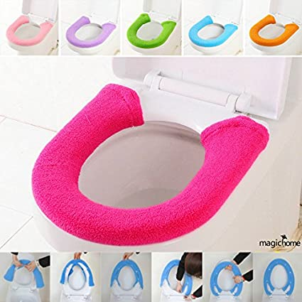 Lepakshi E Wc Warm Cashmere Toilet Seat Cover with Buckle Toalete ...