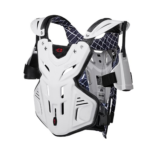 EVS Sports F2 Roost Guard (White, X-Large)