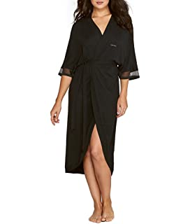 Calvin Klein Womens Sculpted Robe