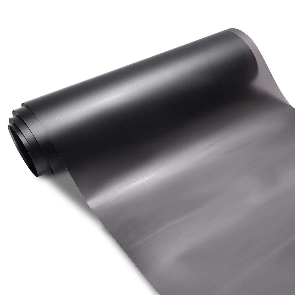 TECKWRAP Headlight Taillight Vinyl Tint Wrap 11.5x78 Glitter Dark Smoke Black