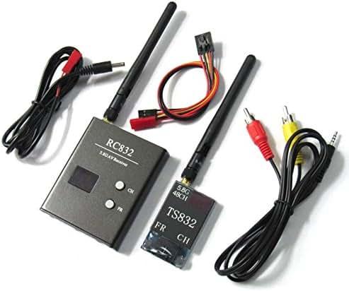 Hobbypower Boscam 32Ch 5.8G 600mW V1.3 Wireless Video Transmit System TS832 & RC832 OSD FPV