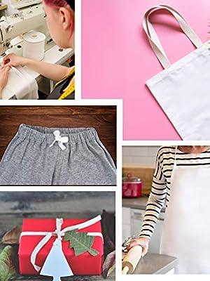 Cinta de sarga de algodón, cinta de espiguilla para coser, costura ...