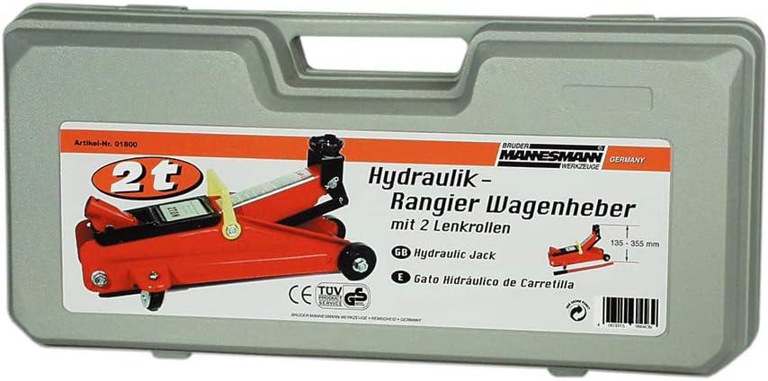 Import Allemagne Mannesmann Cric hydraulique Charge 2 tonnes