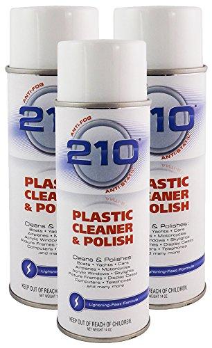 Sumner Laboratories 23304C-3PK 210 Plastic Cleaner/Polish Aerosol - 42 fl. oz., 3 Pack