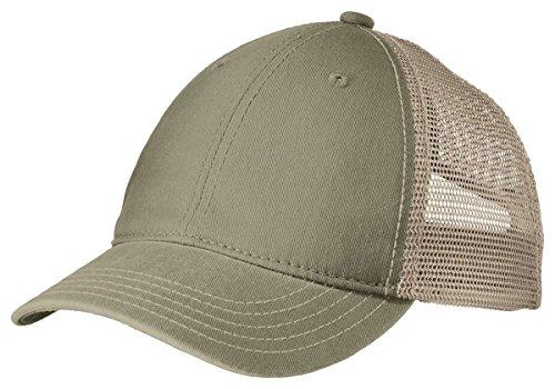 District Super Soft Mesh Back Cap. DT630 Olive/ Khaki OSFA
