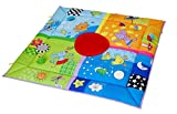Taf Toys 4 Seasons Baby Activity Mat | Suitable From Birth, For Easier Development And Easier Parenting, Large Size, Soft, Cosy & Safe Fabric, Seasonal Vibrant Colored Base Panel, Safety Mirror, Toys